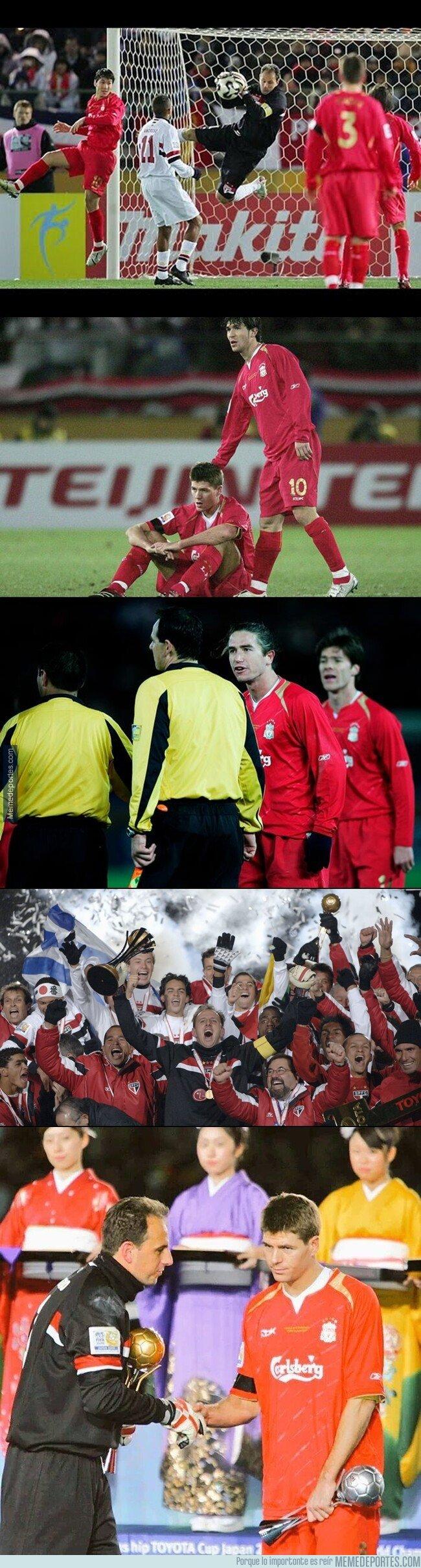 1093864 - Esto ocurría la última vez que Liverpool jugó un mundial de clubes... Hace 14 años.