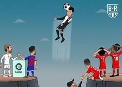 Enlace a El salto de Cristiano destacó en la jornada internacional, por @brfootball