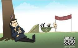Enlace a Los empates condenan al Madrid, por @footytoonz