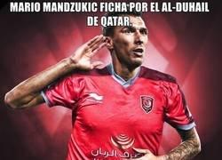 Enlace a Mario Mandzukic se retira... a ganar dinero. Muchas gracias.