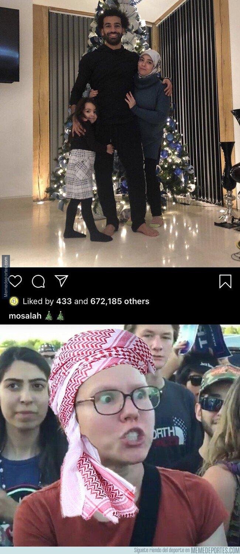 1094435 - Cada vez que Salah se empapa más de la cultura occidental...
