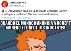 Enlace a Robert Moreno, nuevo entrenador del Mónaco