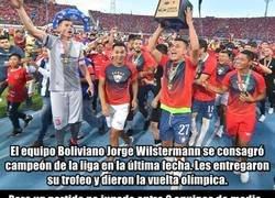 Enlace a Otra vez Bolivia: El campeón de la liga puede perder un título por un partido no jugado entre otros dos