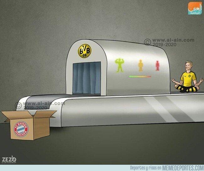 1094745 - ¿Cuánto tardará Haland en irse al Bayern? Por @zezocartoons