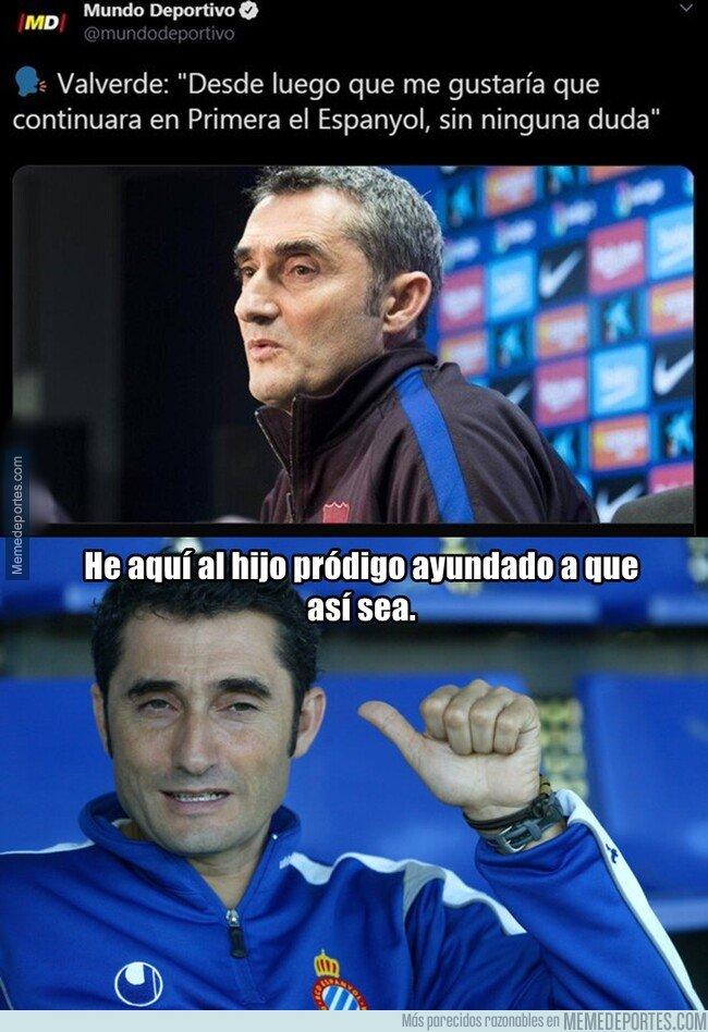 1095064 - Si de Valverde depende, el Espanyol es de primera