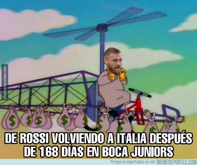 1095186 - De Rossi volviendo a Italia