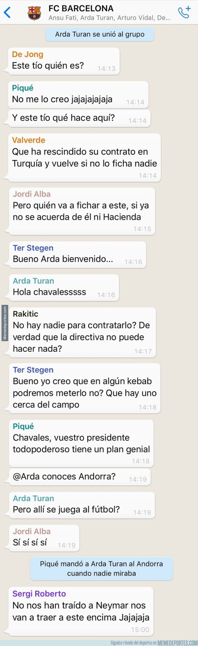 1095256 - El Basaksehir devuelve a Arda y eso había que resolverlo por Whatsapp, por @deportes4parodia