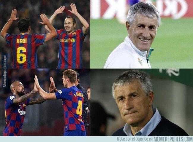 1095883 - El centro del campo actual del Barça no es el que enamoró a Setién en su día