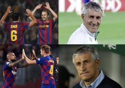 Enlace a El centro del campo actual del Barça no es el que enamoró a Setién en su día