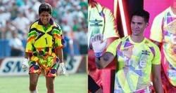 Enlace a El Bangkok United sacó un kit para porteros inspirada en Jorge Campos para encandilar a los delanteros