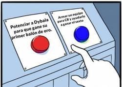 Enlace a Ni que el representante de Dybala fuera Mendes...