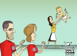 Enlace a El Bayern ya se frota las manos con Haland, por @footytoonz