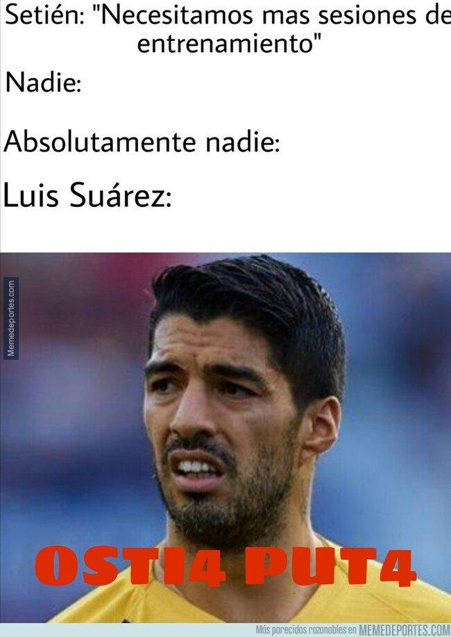 1096291 - Suárez la pasaba mejor lesionado