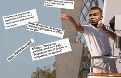 Enlace a Los guiños de Mbappé al Madrid ya son constantes