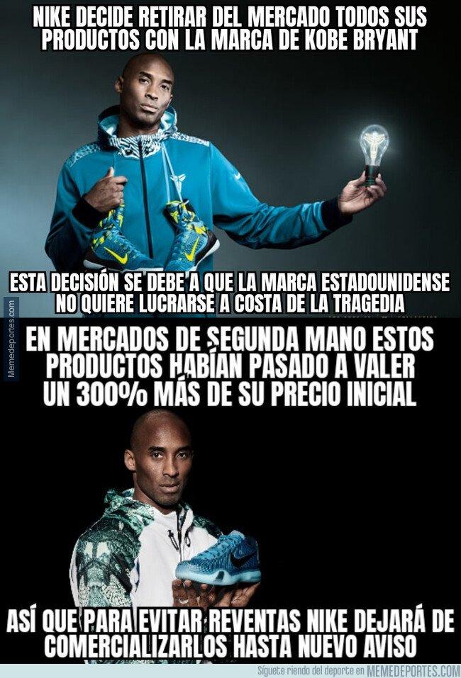 1097007 - Nike retira del mercado todos sus productos de Kobe Bryant