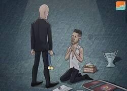 Enlace a Zidane es la pesadilla del cholismo, por @zezocartoons