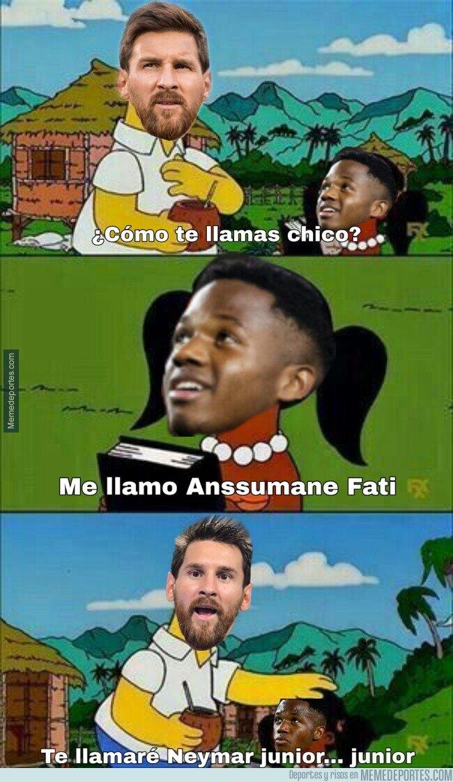 1097407 - Se nota buena conexión entre Messi y Ansu