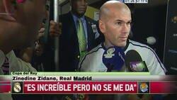 Enlace a Zidane sigue sin poder levantar la copa del Rey