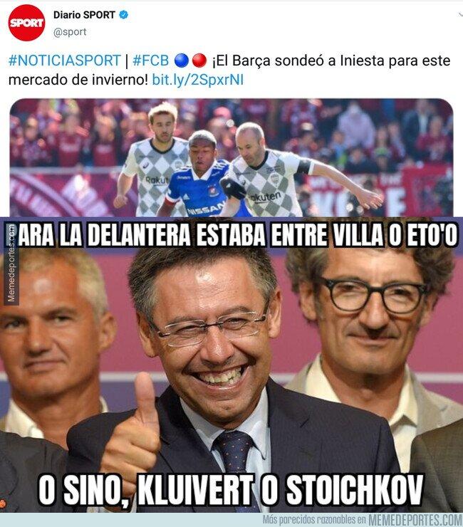 1097960 - Bartomeu intentó hacer un Barça vintage