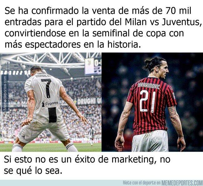 1098234 - La semifinal de copa vendida como Cristiano vs Zlatan