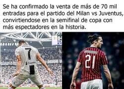 Enlace a La semifinal de copa vendida como Cristiano vs Zlatan