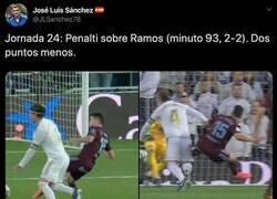 Enlace a El periodista Alfredo Martínez le da una respuesta descomunal a José Luis Sánchez tras quejarse del arbitraje al Real Madrid por un posible penalti
