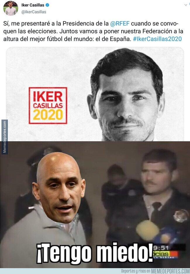 1098578 - Casillas se presenta oficialmente a la presidencia de la federación