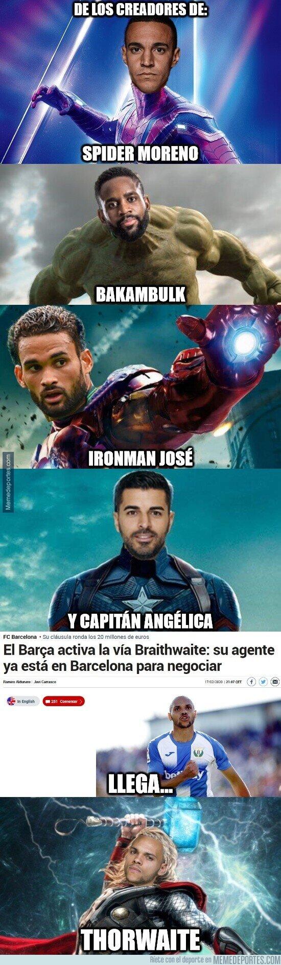 1098625 - El Barça ya tiene nuevo superhéroe
