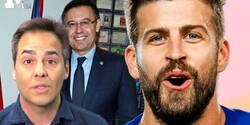 Enlace a El tuit descomuntal de Piqué dirigido a un periodista amigo de Bartomeu que deja claro que no hay nada de buena relación con el presidente del Barça