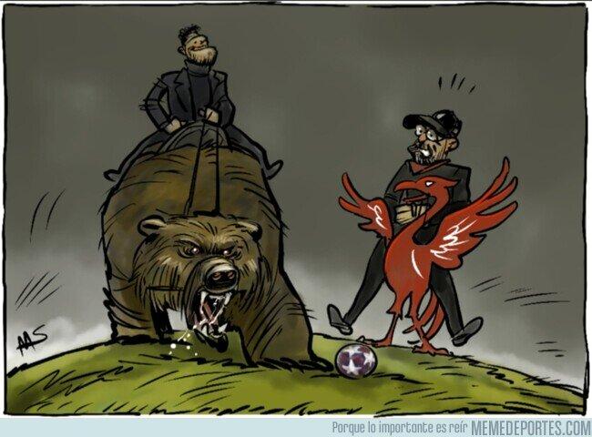 1098766 - El Atleti fue temible ante el Liverpool, por @yesnocse