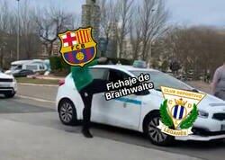 Enlace a El Barça deja para el arrastre al Leganés