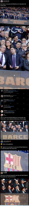 1099053 - La imagen que se coló en el Camp Nou que está indignando por completo a todos los culés
