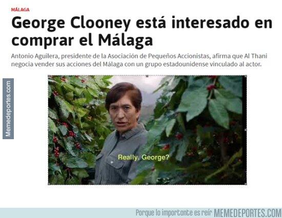 1099160 - George quiere comprar el Málaga