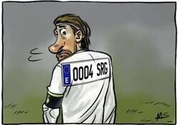 Enlace a Parece que a Ramos le tienen cogida la matrícula, por @yesnocse