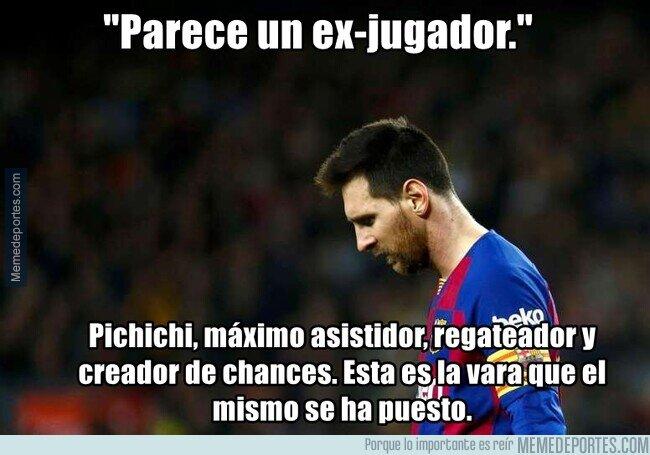 1099828 - El peor Messi es la mejor temporada de cualquier otro.