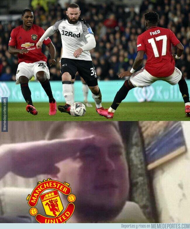 1100097 - La nostalgia que nos viene a todos al ver a Rooney jugar contra su United