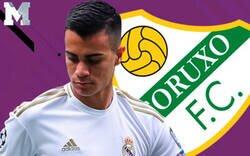 Enlace a El monumental ZASCA del Coruxo FC al Real Madrid después de que Reinier les marcase dos goles con el Castilla