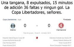 Enlace a Nuestra señora la Copa Libertadores