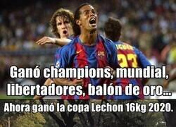 Enlace a ¿Cuantas copas Lechón tienen CR o Messi?