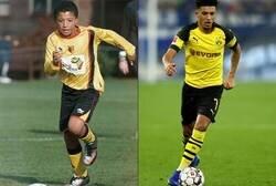 Enlace a Jadon Sancho, siempre de amarillo y negro.