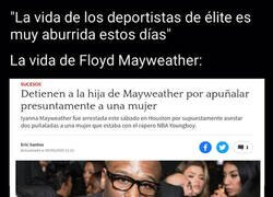Enlace a Mayweather come aparte