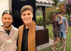 Enlace a La mamá de Neymar se consiguió a un novio de 22 años. Ahora Neymar tiene un padrastro más joven que él