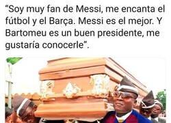 Enlace a El enterrador del Barça