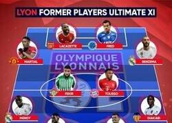 Enlace a El 11 del Lyon si hubiese retenido a sus estrellas