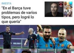 Enlace a El camino de Iniesta en el Barça no fue fácil