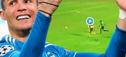 Enlace a Lo más WTF del día: Así llamaron a Cristiano en su primer gol oficial como futbolista