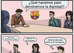 Enlace a Mientras tanto, en Can Barça...