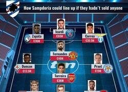 Enlace a El equipazo que tendría la Sampdoria si no hubiese vendido a sus estrellas, por Transfermarkt