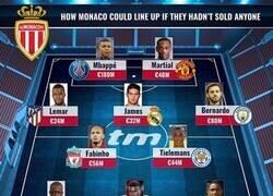 Enlace a El increíble 11 que tendría el Mónaco si no hubiese vendido a sus estrellas, por Transfermarkt