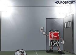 Enlace a Vuelve el fútbol de la mano de la Bundesliga, por @zezocartoons
